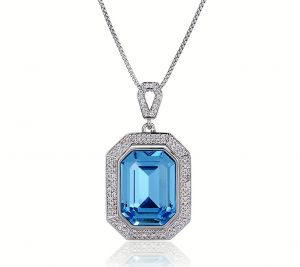 Delicate Elegance Necklace, Clear CZ