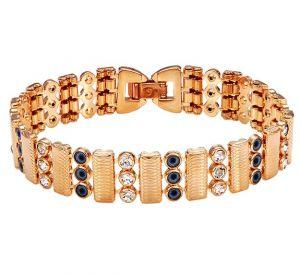 Dream Golden Bracelet, Clear CZ
