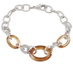 Fabulous Essence Bracelet, Clear CZ