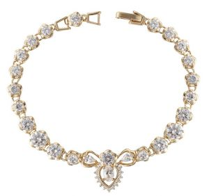 Fantastic Love Bracelet, Clear CZ