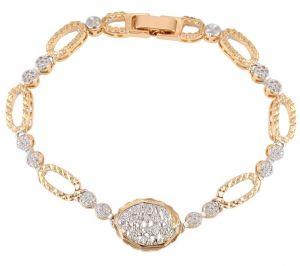 Happy Day Bracelet, Clear CZ