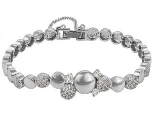 Love of Spring Bracelet, Clear CZ