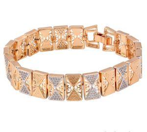 Passion Geometric Bracelet, Clear CZ