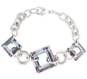 Radiant Lilacs of the Passion Bracelet